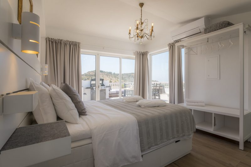 Bedroom in our topsuite